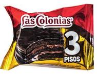 ALFAJOR LAS COLONIAS 3 PISOS SABOR CHOCO