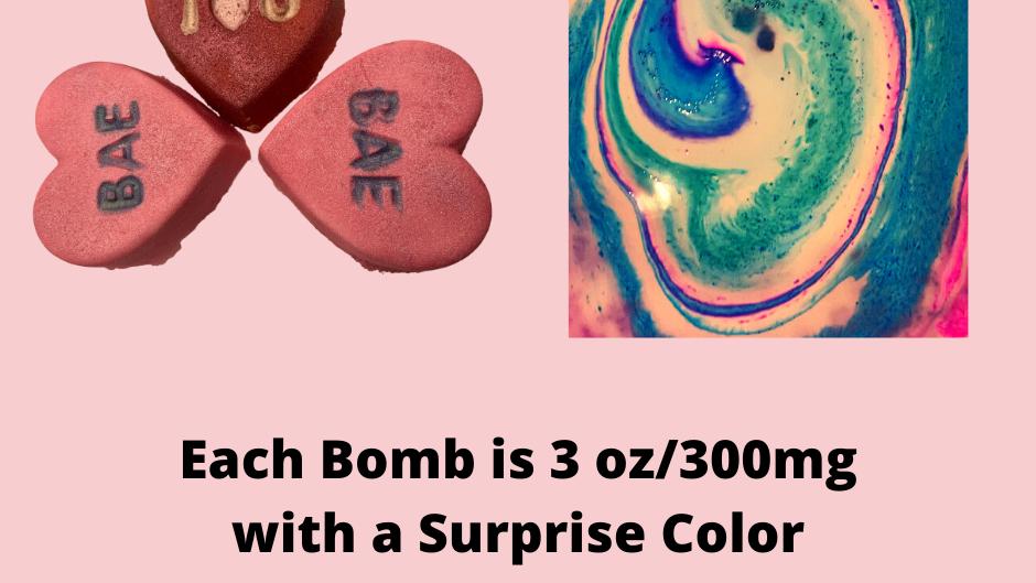 Valentines Day Bath Bomb Box