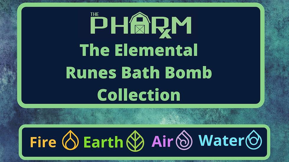 Elemental Runes Bath Bomb