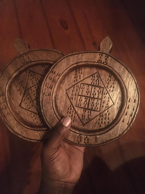 Ogba Ase Sacred Plaque