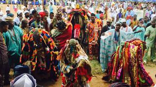 Egungun Masquerade of Nigeria