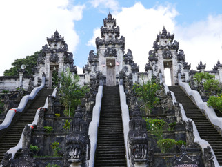 Climbing Bali's Temple of A Thousand Steps