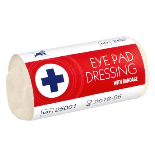 Eye Pad Dressing with Bandage - Wrap