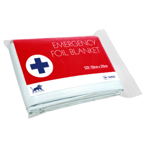 Foil Blanket - Adult - 130cm x 210cm (1)