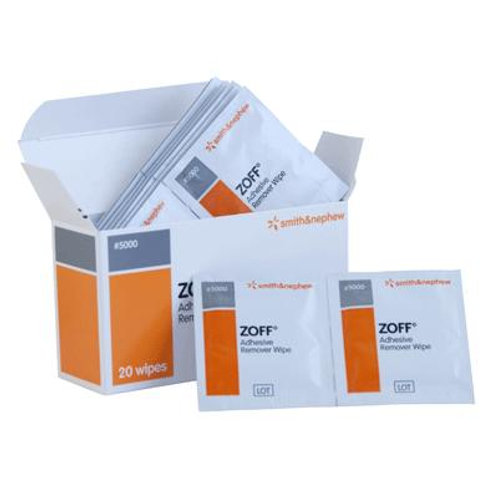 Zoff Adhesive Remover Wipes (20)