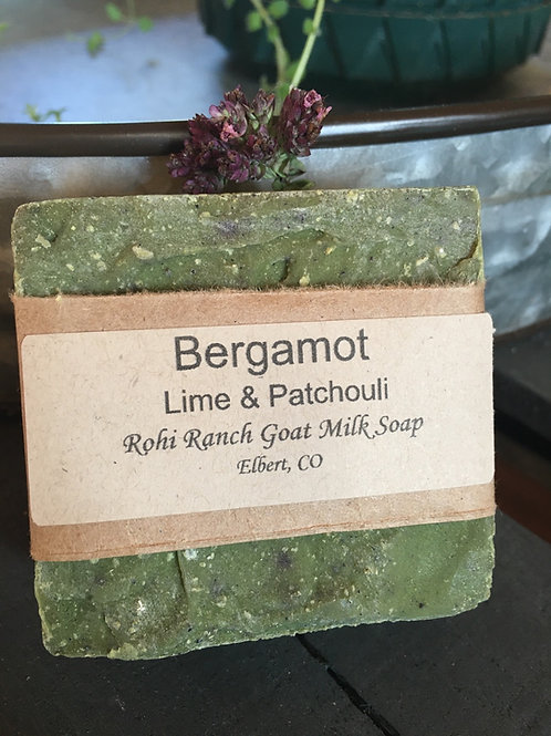Bergamot with lime & patchouli