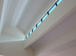 Skylight above Dining Hall for Daylighting and Ventilation
