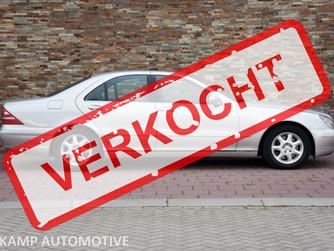 VERKOCHT..... Mercedes-Benz S320 CDI