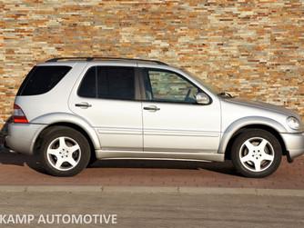 NU BINNEN..... Mercedes-Benz ML55 AMG Youngtimer - BJ. 2002 - 219.986 KM