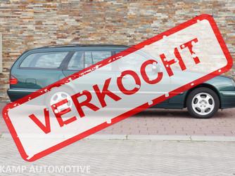 VERKOCHT.... Mercedes-Benz E320 COMBI 4-MATIC AVANTGARDE