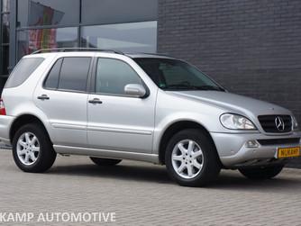 NU BINNEN..... Mercedes-Benz ML270 CDI - BJ. 2002 - 122.430 KM