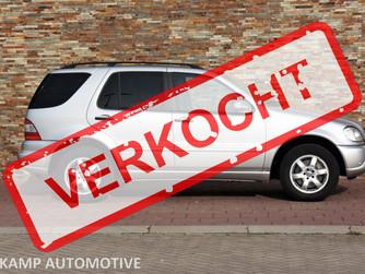 VERKOCHT... Mercedes-Benz ML500