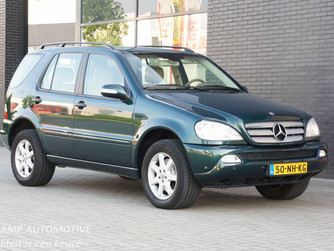 NU BINNEN..... Mercedes-Benz ML350 - BJ. 01-10-2003 - 86.782 KM