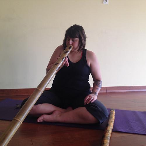 Stage Yoga & Didjeridoo