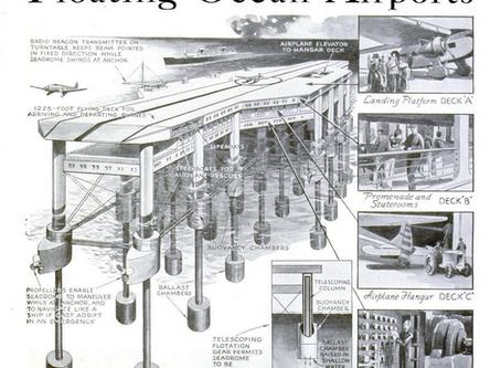 Floating Ocean Airports