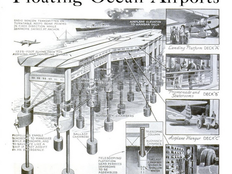Floating Ocean Airports