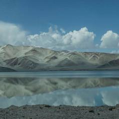 Karakum Highway Xinjiang - China