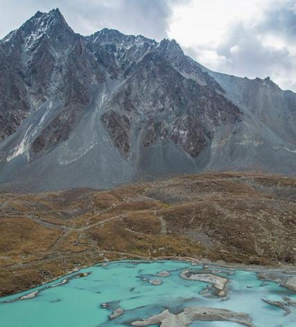 Tien Sian Mountains