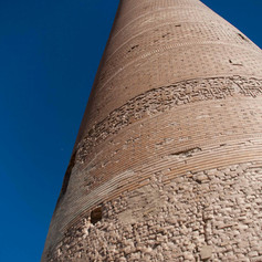 Kutlug Timur Minaret Konye-Urgench Turkmenistan