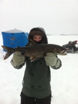 6Ib Lake Trout on Rosseau