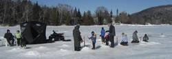Family Icefishing