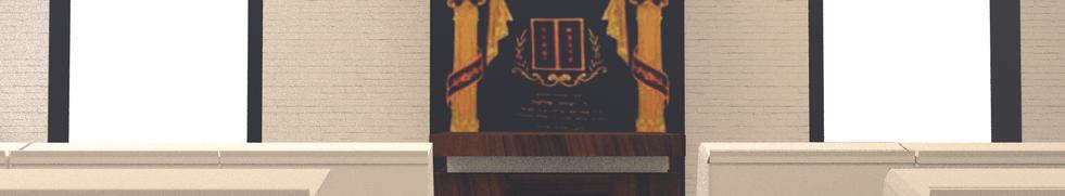 תכנון בית הכנסת בבסיס מודיעין