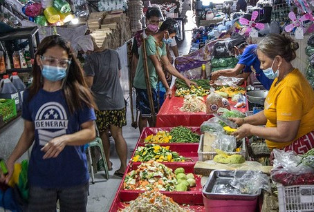 Philippines' Inflation Unchanged in May at 4.5 %