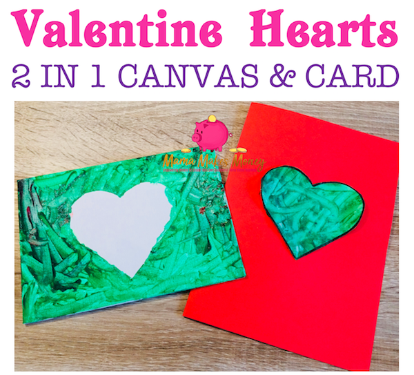 2-in-1 'card and gift' kids Valentine's Day craft activity