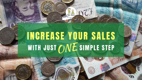 Increase your sales with just ONE simple step...