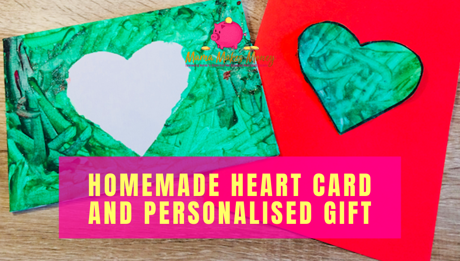 Valentines Day Card and Gift 2-in-1 kids craft activity