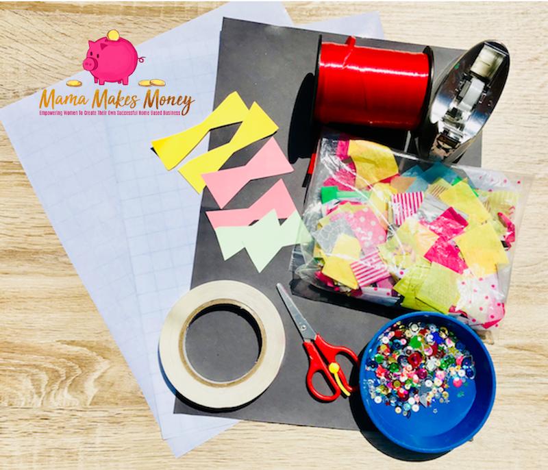 Instructions on making sun catcher kites for kids