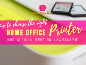 How to choose the right printer for your home office