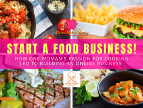 How one woman's passion for cooking led to building her own online business