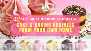 10-step guide on how to start a cake and baking business from home