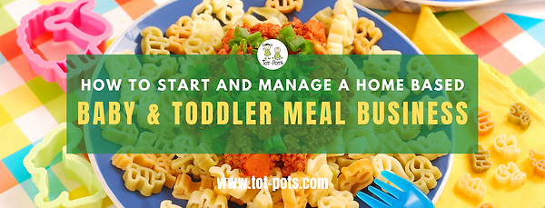Home Based Toddler Meal Business FB Cove