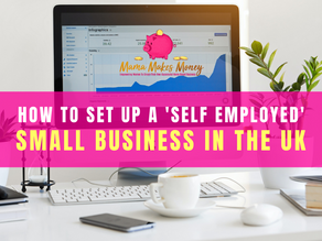 How to set up as a 'self employed' small business in the UK