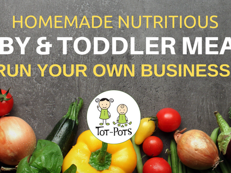 Start Your Own Baby & Toddler Meal Business!