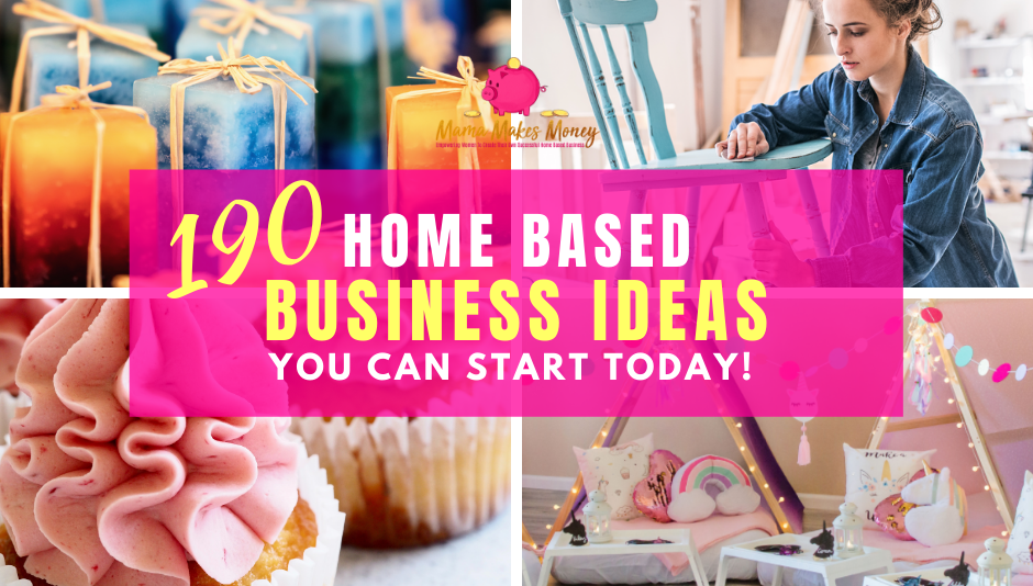 Get my list of '190 Home Based Business Ideas' for FREE!