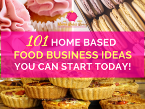 101 home-based food business ideas you can start today
