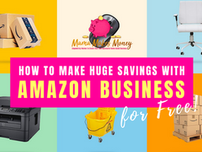 How to create an Amazon Business account for FREE and make big savings!