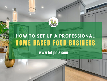 New Training Course - Start a Home Based Food Business!