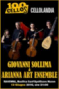 locandina evento musicamente arianna art sollima