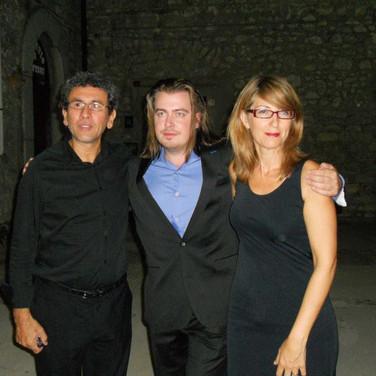 Paolo, Dmitry, Cinzia