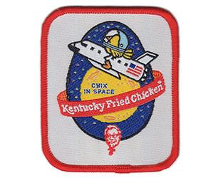 Chix in Space patch