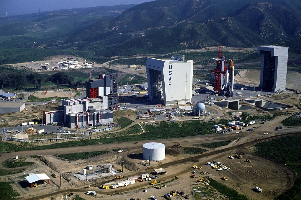 Vandenberg AFB Space Launch Complex 6 in the 1980s