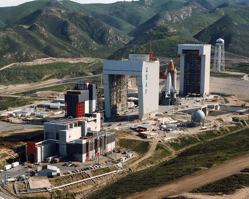Vandenberg AFB's Space Launch Complex 6 in the 1980s