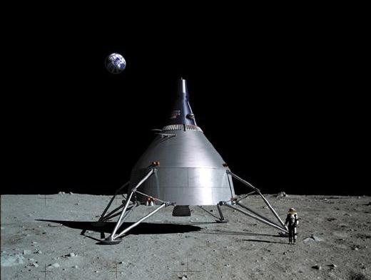 Lunar Gemini on the moon