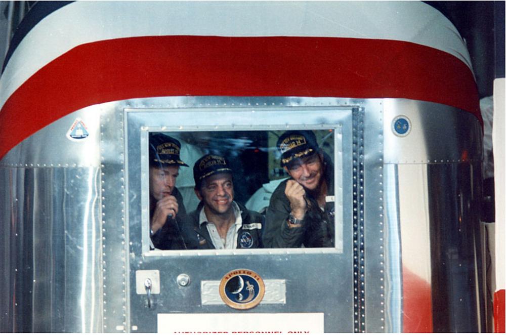 Apollo 14 crew in quarantine