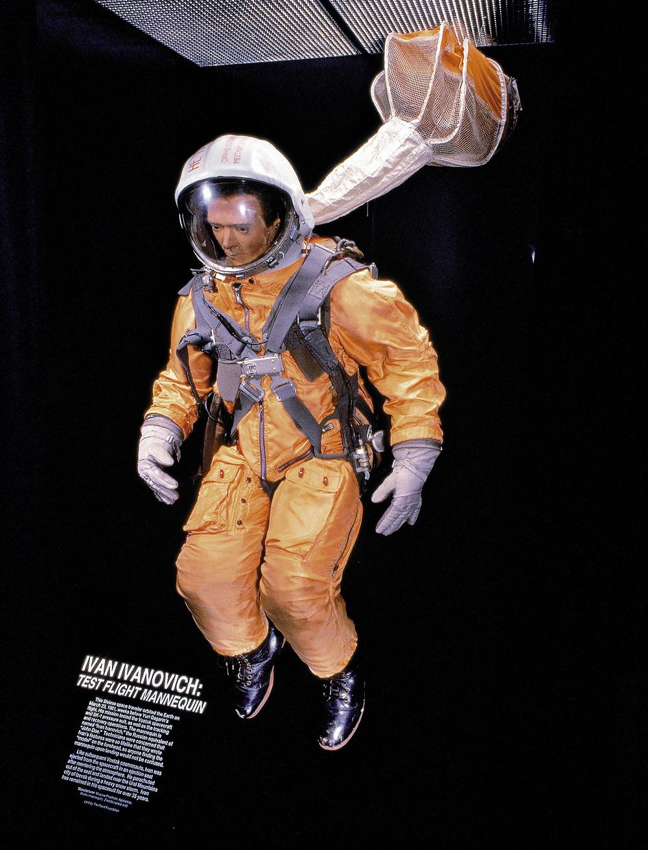 Soviet space dummy Ivan Ivanovich