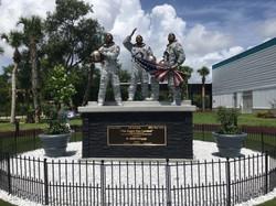 Apollo 11 Crew Statue